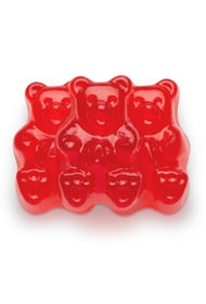 Red Raspberry Gummi Bears